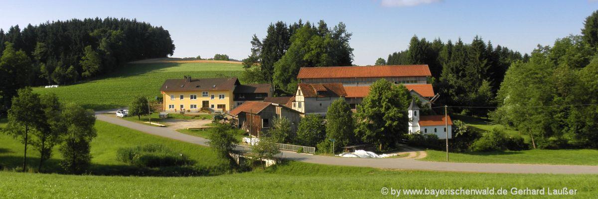 Familienferien Bauernhof in Bayern