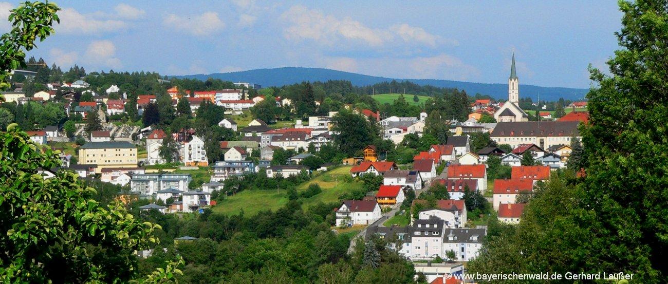 Bayerischer Wald Vermieter und Gastgeber in Niederbayern und der Oberpfalz