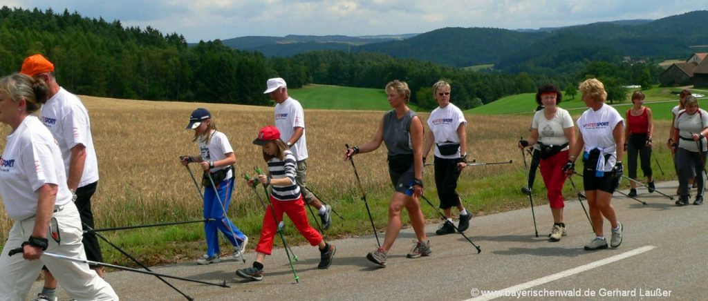 Erlebnisurlaub in Bayern Aktivurlaub Bayerischer Wald