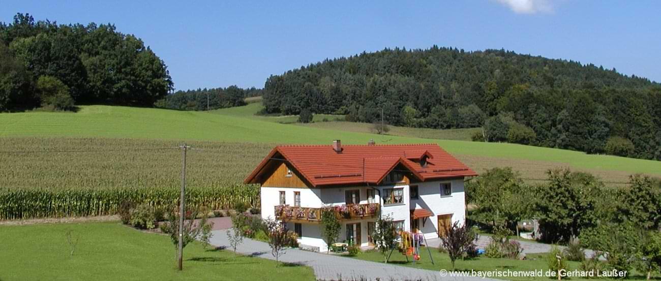 Bayerischer Wald Ferienhaus Urlaub in Alleinlage