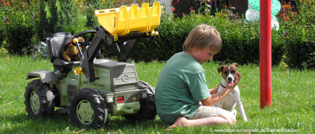 Bayerischer Wald Kurzurlaub mit Kindern und Hund