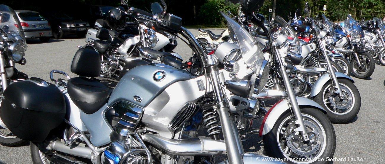 Bayerischer Wald Motorradurlaub und Biker Unterkünfte