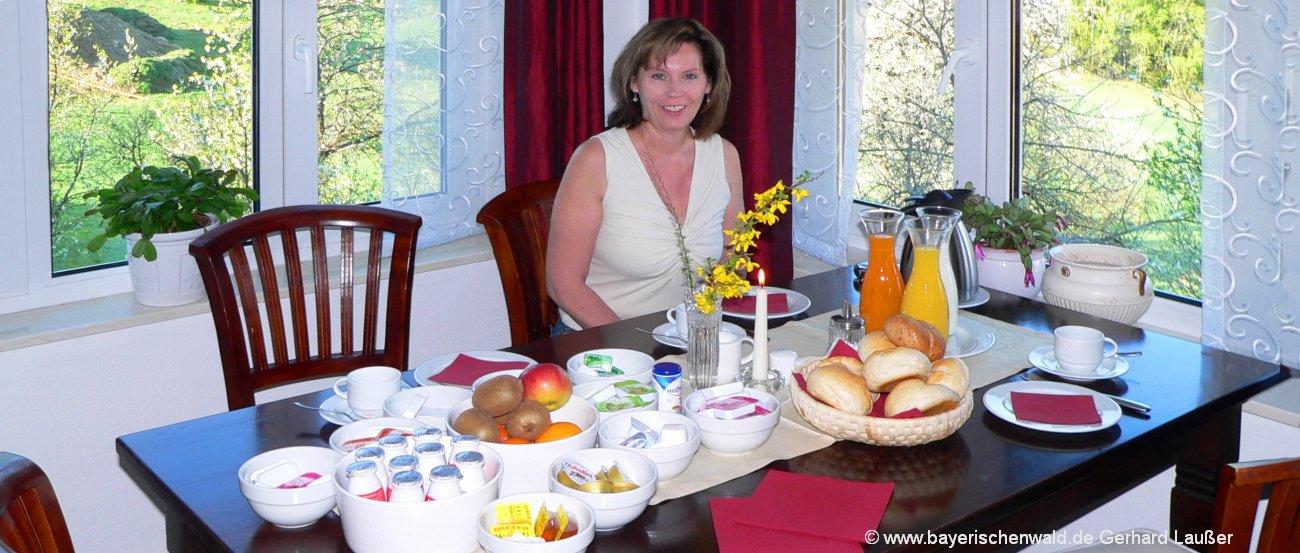 Pension mit Frühstück Bayerischer Wald
