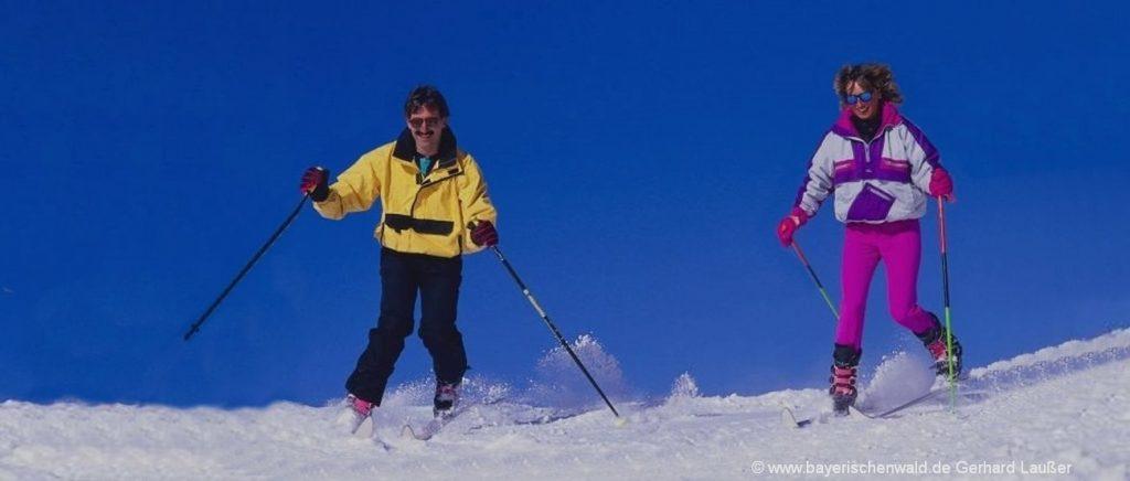 Bayerischer Wald Skiurlaub für Familien