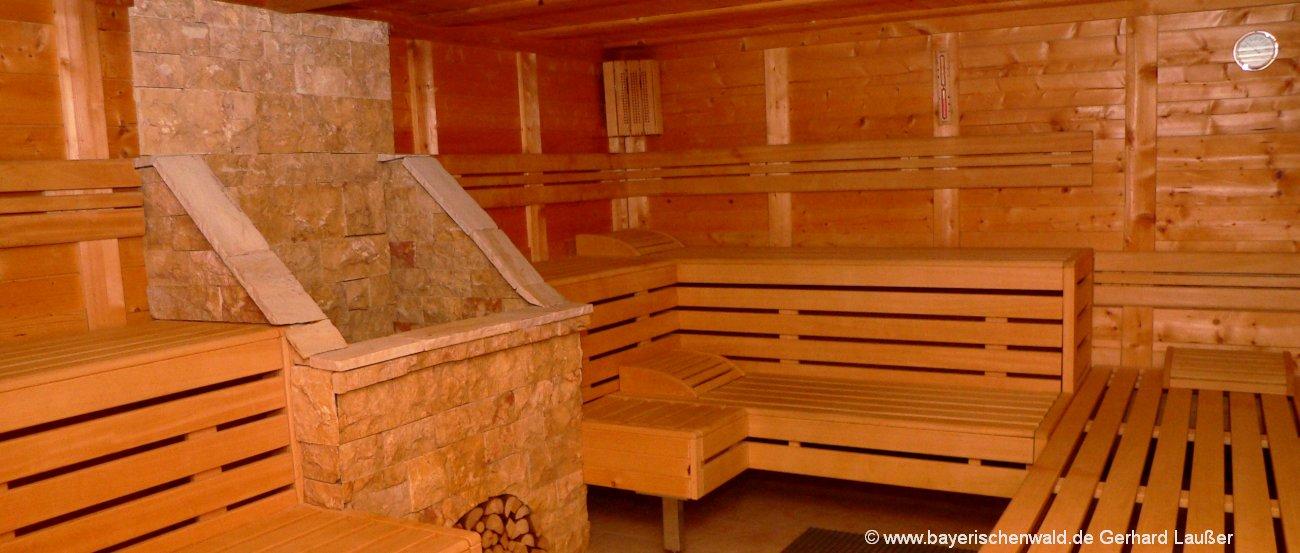 Wellnesshotel Bayerischer Wald Sauna Erholung & Wellness-