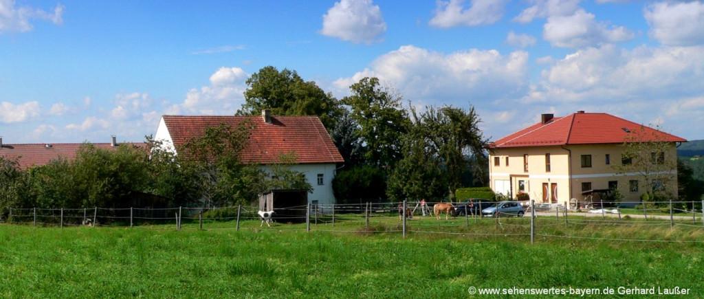 Bayerischer Wald Ferienhäuser in Niederbayern und der Oberpfalz mieten