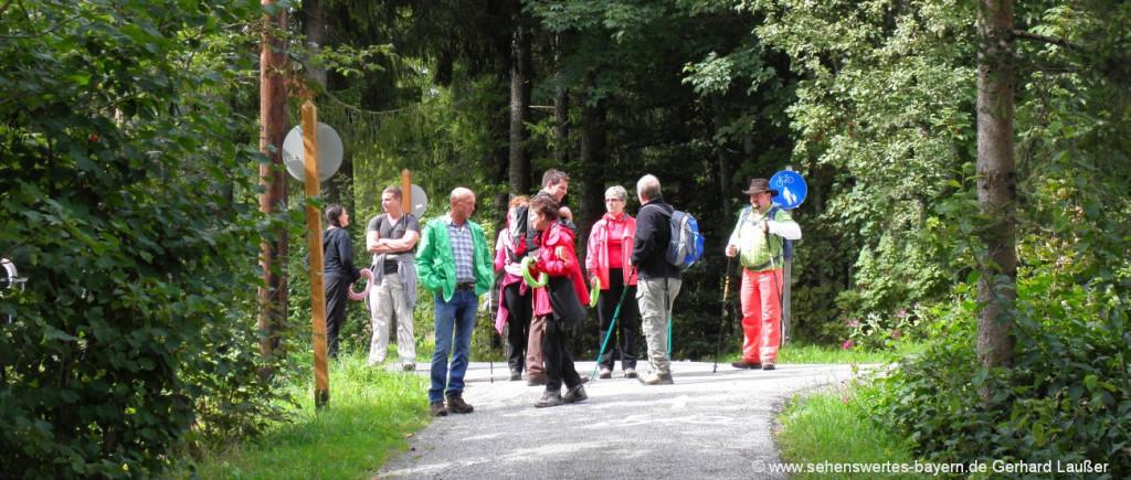 Aktivurlaub mit Kindern in Deutschland Erlebnisurlaub für Erwachsene in Bayern